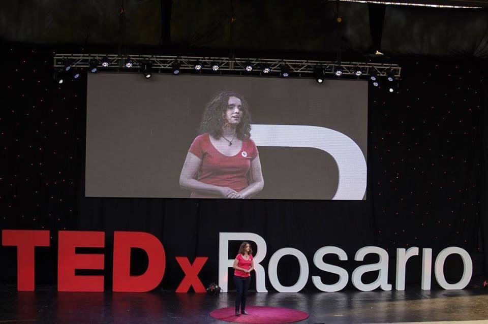 Malena Famá, Presidenta de Multipolar, expuso en la última edición de TEDXROSARIO